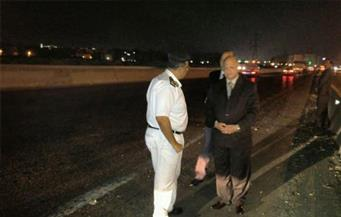 """""""أمن القاهرة"""" يتفقد الأكمنة الحدودية والخدمات بالطريق الدائري والطرق الصحراوية"""