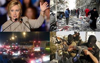 اغتيال ضابطين.. مجزرة بلا رحمة.. حوار الرئيس.. حادث دائري المعادي.. رسائل كلينتون.. بنشرة الثالثة صباحًا