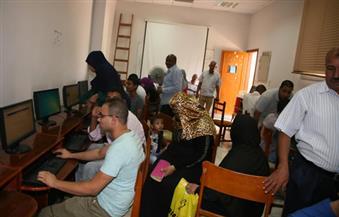 260 طالبا وطالبة يسجلون رغباتهم بمعامل جامعة جنوب الوادي بالمرحلة الثانية
