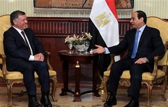 مصر والأردن.. توافق سياسى وتعاون مستمر لمواجهة الأخطار التى تهدد المنطقة