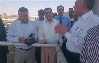 بالصور.. وزير الري يتفقد  السد العالي استعدادًا لموسم الفيضان