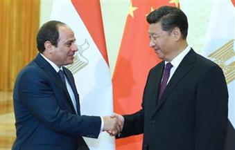 """السيسي لوكالة أنباء """"شينخوا"""": نثق في نجاح قمة الـ 20 .. ومصر مهتمة بالاستفادة من تجربة الصين الرائدة"""