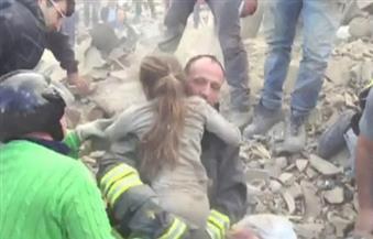 بعد مرور 17 ساعة على الزلزال.. انتشال طفلة على قيد الحياة من تحت الأنقاض بإيطاليا