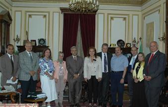 """بالصور.. اتفاق شراكة بين جامعة القاهرة والاتحاد النوعي للأندية الروتارية لتدريب الطلاب ومكافحة ف""""فيروس سي"""""""
