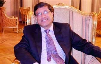 سفير الهند بالقاهرة: سامح شكري سيزور دلهي قريبًا والاستثمارات شهدت تطورًا كبيرًا
