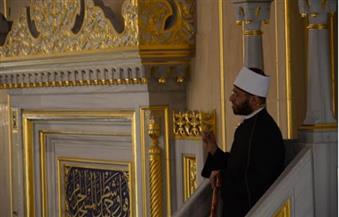 """""""الأزهري"""" في رسالة لبوتين من الشيشان: مصر تتمنى لكم الأمن والطمأنينة"""