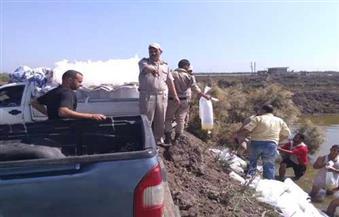 بالصور..محافظ كفرالشيخ يتابع عملية ضبط 4 سيارات زريعة أسماك حية بالبرلس