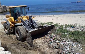 """بالصور..""""آثار"""" الإسكندرية تطلق حملة لتنظيف وتطوير منطقة الحوض الجاف بالدخيلة"""