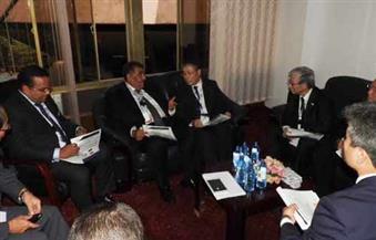 """وزير قطاع الأعمال يبحث سبل التعاون مع شركة """"ميتسوبيشى"""" فى تطوير الصناعات الثقيلة"""