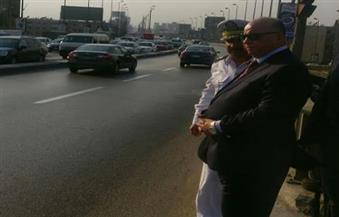 بالصور.. مدير أمن القاهرة يتفقد الحالة الأمنية