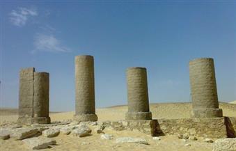 """وفد ألماني ورجال أعمال مصريون يزورون منطقة آثار """"تونة الجبل"""" بالمنيا"""