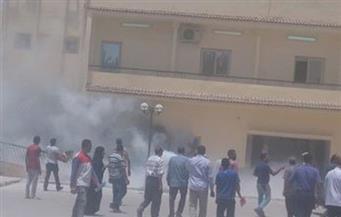 وكيل وزارة الصحة بالوادي الجديد: لا خسائر من حريق مستشفى الخارجة العام