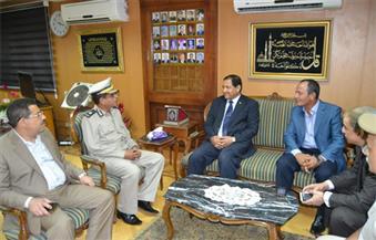 بالصور.. محافظ الغربية يهنئ مدير الأمن الجديد لتوليه المنصب