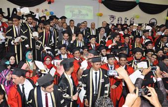 رئيس جامعة كفرالشيخ يشهد حفل خريجي كلية الهندسة