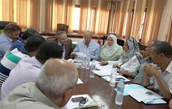 سكرتير عام محافظة المنوفية يعقد اجتماعًا لمتابعة إجراءات تنفيذ الطريق الإقليمى