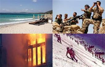 وثائق حرب أكتوبر.. شجار عراة.. تحطم مقاتلة.. النزاع التركي الكردي.. حريق مستشفي جرجا.. بنشرة السادسة صباحًا