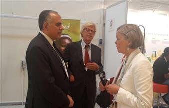 """وزير الري يعرض أمام """"أسبوع المياه العالمي"""" مشكلات مصر ومخاطر الشُح المائي"""