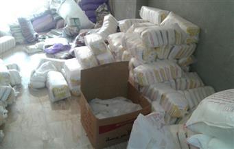 ضبط مصنعين لإنتاج الحلوى بدون ترخيص وكميات كبيرة من السلع مجهولة المصدر في حملة بقليوب