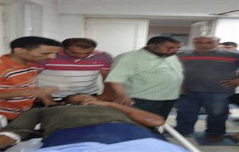 إصابة 10 أشحاص في حادث انقلاب سيارة نصف نقل بالشرقية