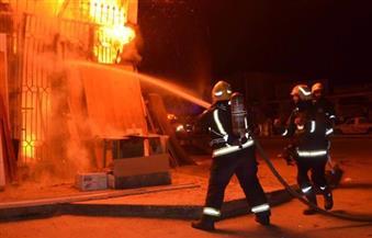 السيطرة على حريق مخزن أحذية بباب الشعرية