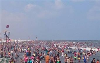 إنقاذ 47 حالة من الغرق في رأس البر
