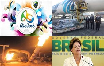 """دقيقة حداد.. حزن """"روسيف"""".. انفجار خط أنابيب.. عزل مسئول.. انطلاق اولمبياد ريو بنشرة الثالثة"""