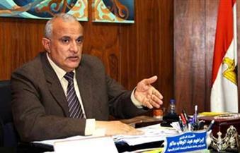 رئيس جامعة طنطا يبحث مشاكل هيئة التمريض بمستشفيات الجامعة