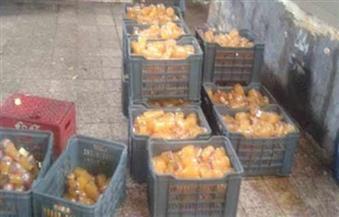 ضبط مصنع عصائر غير مطابقة للمواصفات بالإسكندرية
