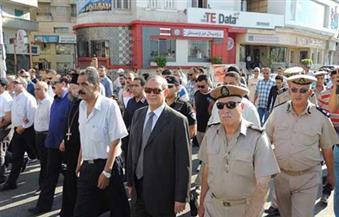 مدير أمن دمياط يتفقد الكمائن الحدودية ويشدد على التعامل الإنساني مع المواطنين