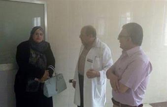 بالصور.. وكيلة صحة المنوفية تتقفد أعمال التطوير بمستشفى منوف