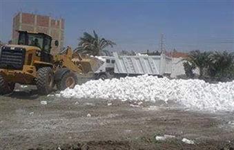 تنفيذ 123 قرار إزالة على الأراضي الزراعية وأملاك الدولة بديروط