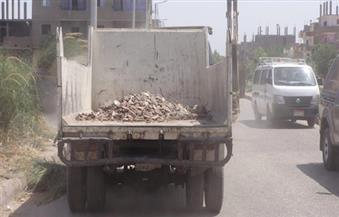 بالصور.. حملات لإزالة الإشغالات من شوارع الأقصر