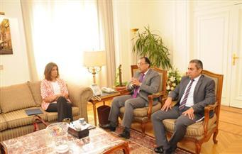وزيرا الهجرة والاسكان يناقشان توفير الأراضى والوحدات السكنية للمصريين بالخارج