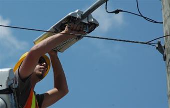 عودة التيار الكهربائي إلى بعض مناطق بلطيم وبرج البرلس