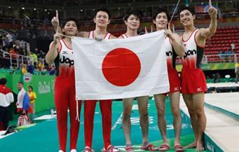 اليابان تفوز بذهبية فرق الرجال للجمباز في ريو وتنهي ثماني سنوات من هيمنة الصين