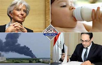 البحث عن تمويل لمصر.. علاوة الموظفين.. بئر الغاز.. كارت ألبان الأطفال.. انفجار سبيس إكس.. بنشرة السادسة مساءً
