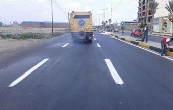 محافظ دمياط: تنفيذ خطة موسعة لتخطيط وتطوير طريق شطا- دمياط حتى ميدان الشهابية