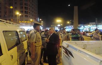 مدير الأمن يتفقد الخدمات للتأكد من جاهزيتها قبل العيد بالفيوم