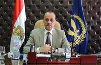 إصابة ضابط و4 أمناء شرطة فى حادث انقلاب سيارة بالسادات