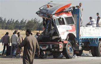 """مصرع 3 أشخاص وإصابة 17 في حادثي تصادم بـ""""الصحراوي الشرقي"""""""