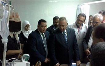 افتتاح مركز الحروق والجراحات التكميلية بمستشفى ههيا المركزى في الشرقية