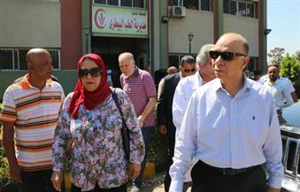 محافظ القاهرة يتفقد مستشفى شبرا العام