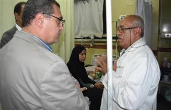 بالصور.. محافظ الفيوم يكلف السكرتير العام بتشكيل لجنة لفحص تكييفات مستشفى الحميات