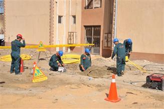 محافظة القاهرة: قطع الغاز الطبيعى عن عدة مناطق لمدة 24 ساعة