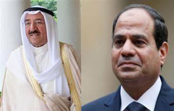 السيسي يجري اتصالا هاتفيًا بأمير الكويت للتهنئة بحلول عيد الأضحى المبارك