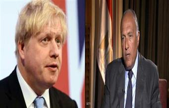 شكري لنظيره البريطاني: نتطلع إلى استئناف رحلات الطيران إلى شرم الشيخ