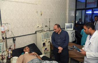 بالصور.. محافظ الإسكندرية يقوم بزيارة مفاجئة لمستشفى أبو قير العام