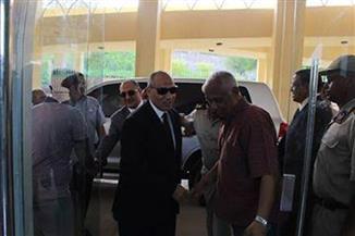 مدير أمن أسوان يهنئ فريق المحافظة بعد فوزه على الداخلية