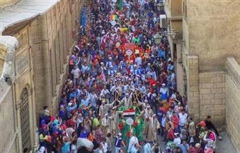 """انطلاق مشروع """"فنون القاهرة التاريخية في ألف عام"""" من شارع المعز"""