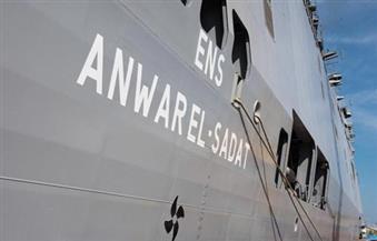 قائد القوات البحرية خلال تسلم الميسترال: الأخطار استوجبت امتلاك مصر إمكانات لحماية أمنها
